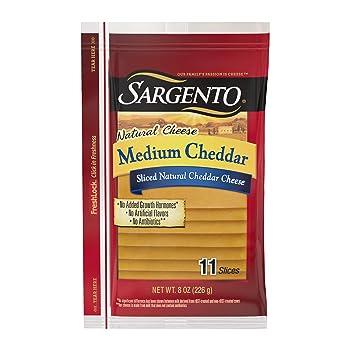 Sargento Pre-Sliced Cheddar Cheese