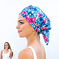 Luxury Eco Shower Cap For Women - Made From 100% Recycled Materials. Stylish, Sustainable, Cute Reusable Shower Cap…