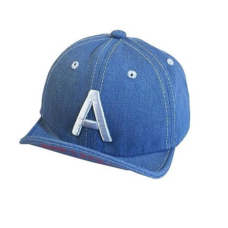 Gorra de béisbol para bebés Denim Hiphop Cap Fashion Outfit para ...