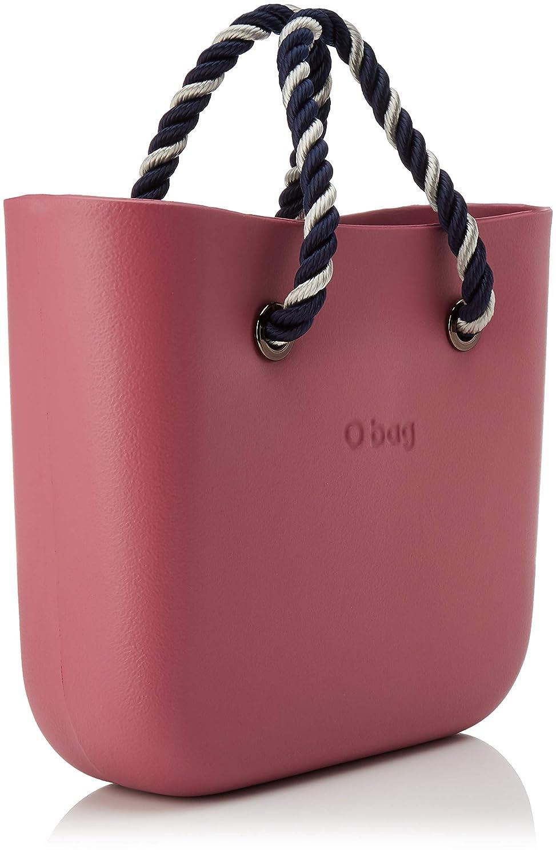 O-väska dam Borsa Obag mini kuvertväska Rosa (fodral)