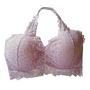 85159bb107293 Amazon.com  Victoria s Secret Pink Floral Lace Halter Bralette Bra ...