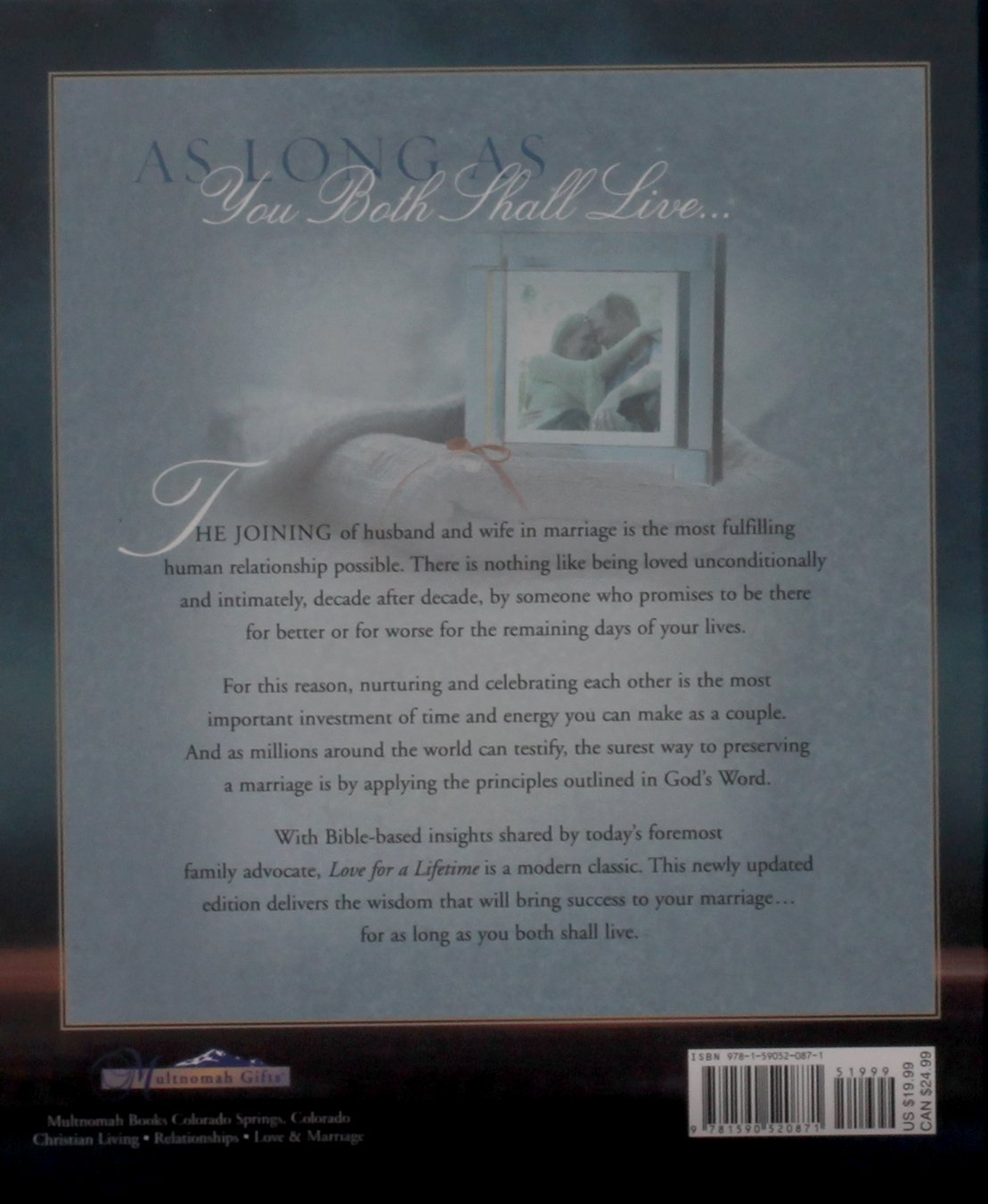 Love for a Lifetime: Building a Marriage That Will Go the Distance (DOBSON, DR. JAMES)