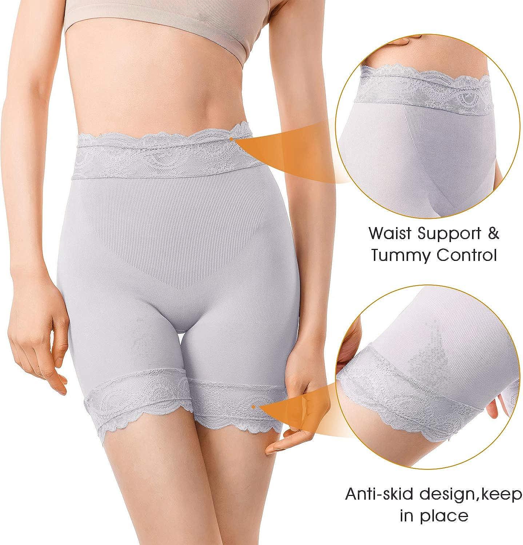 MD Bamboo Tank Tops Light Tummy Control Shapewear Camisole Womens Slim Fit Sleveless Undershirt