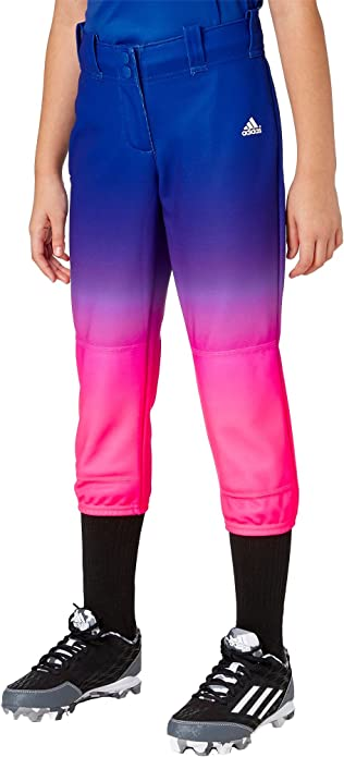 thoughts on best sale later adidas M?dchen Destiny Softball-Ombre-Hose (XL, Pink/Blau ...