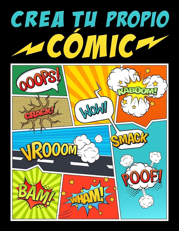 Crea tu propio cómic: 100 originales plantillas de cómics en blanco para adultos, adolescentes y niños: Amazon.es: Papeterie Bleu: Libros