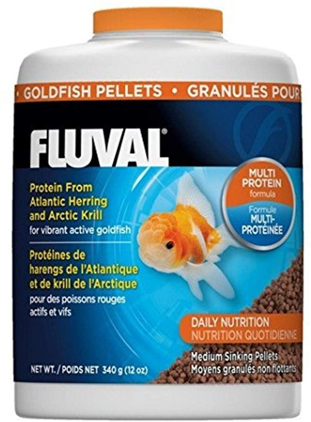 Fluval Goldfish Pellets 340gm, 12-Ounce