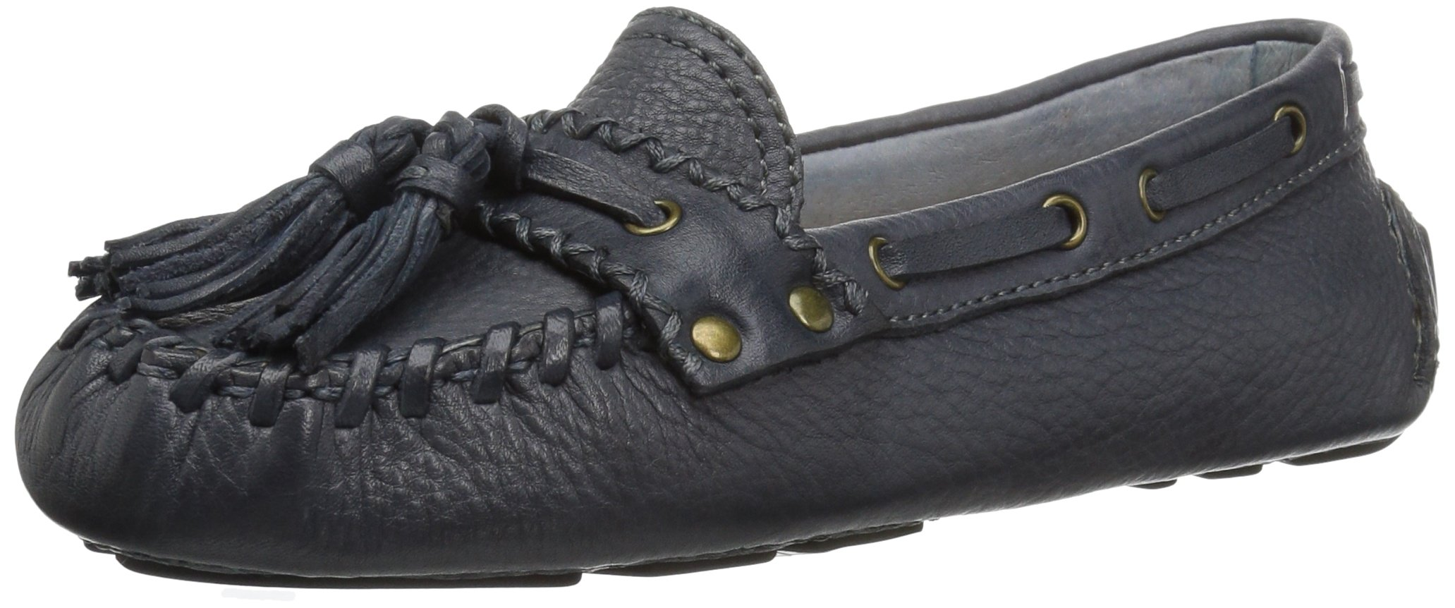 Patricia Nash Women's Domenica Driving Style Loafer, Oxford Blue, 37 B US by Patricia Nash