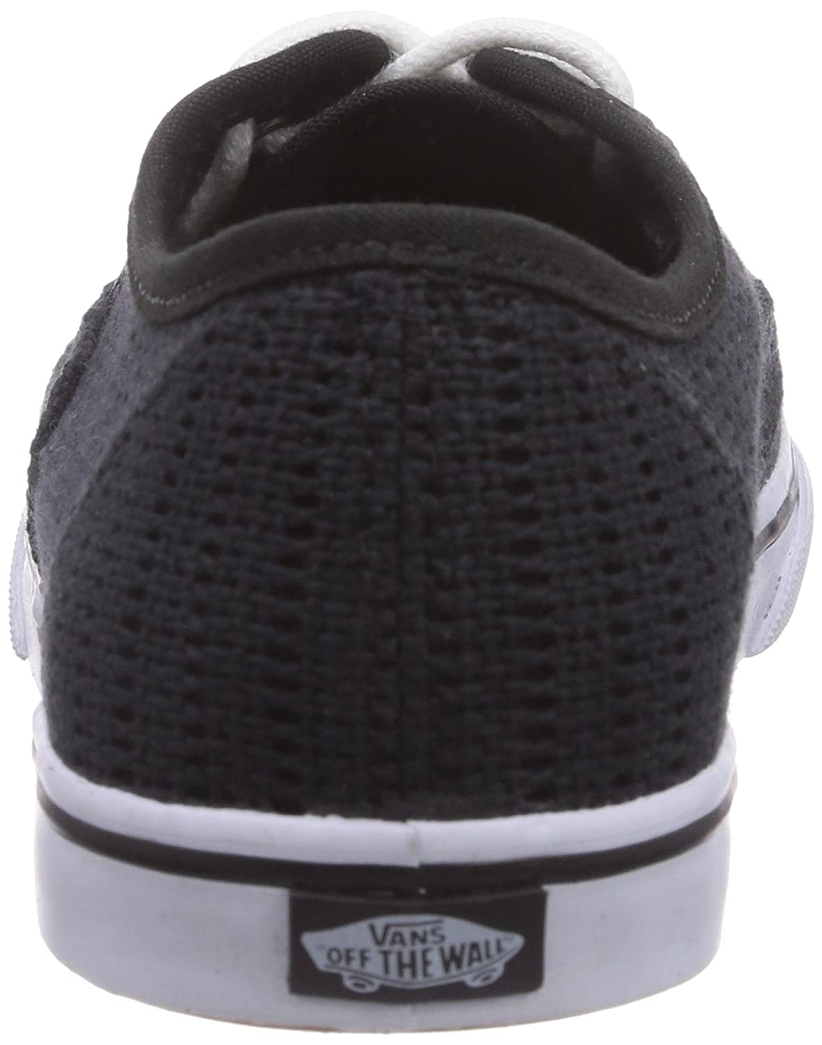 Vans Authentic Lo Pro para hombre Blanco Mesh Lace Up Lace Up Sneakers  Zapatos (Malla) Negro 5ba1a524971
