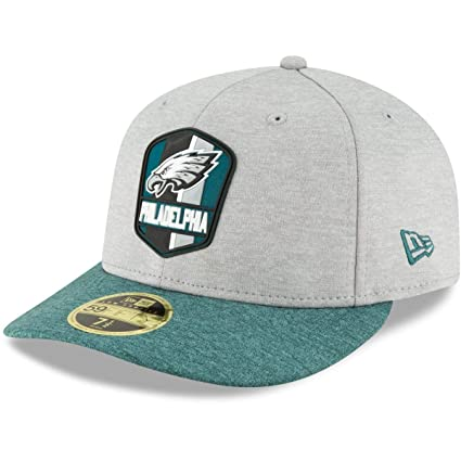 great look multiple colors famous brand New Era LP 59Fifty Cap - Sideline Away Philadelphia Eagles: Amazon ...