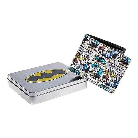 DC Comics Batman Cartera – Bats Comic se envía en una caja de chapa de ansprechenden