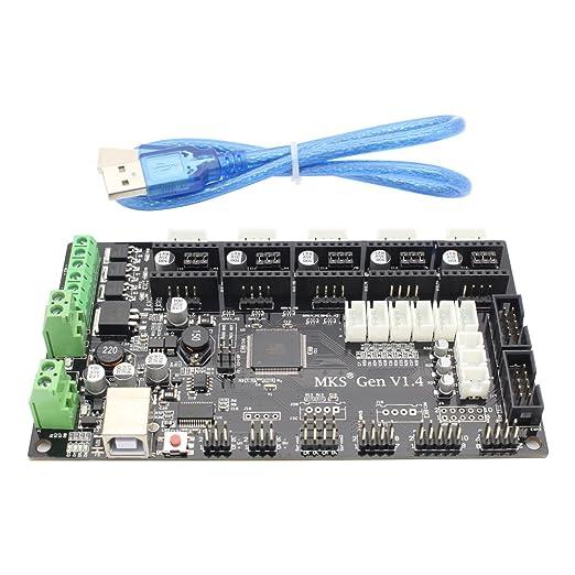 TriGorilla MKS Base V1.4 Junta Remix controlador de impresora 3D ...