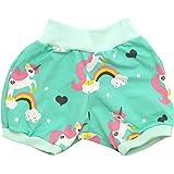 Kleine K/önige Kurze Pumphose Baby M/ädchen Shorts /· Modell Elefantenparty pink /· /Ökotex 100 Zertifiziert /· Gr/ö/ßen 50-152