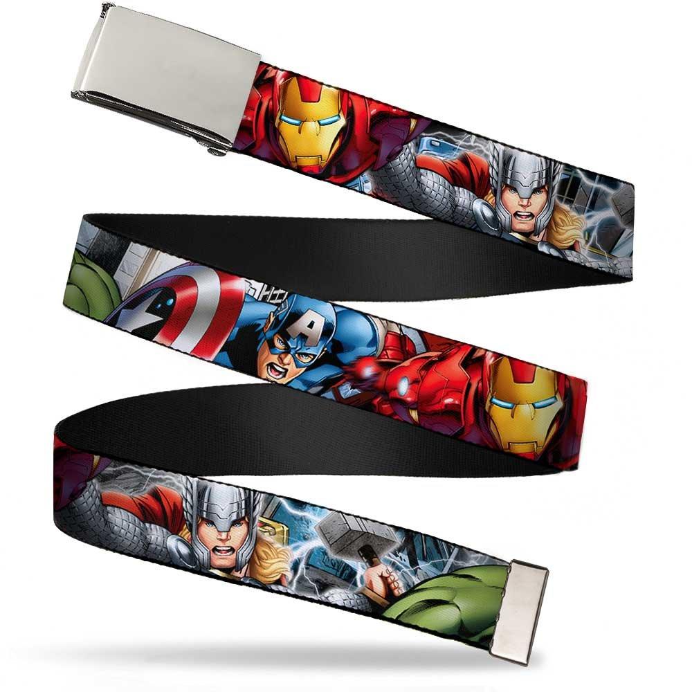 Buckle-Down Web Belt Avengers 1.25
