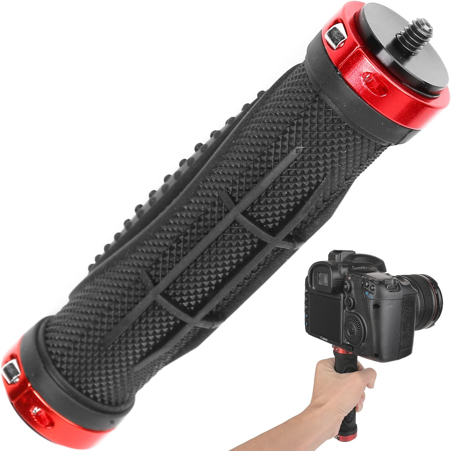 HP Photosmart R817 Vertical Shoe Mount Stabilizer Handle Pro Video Stabilizing Handle Grip for