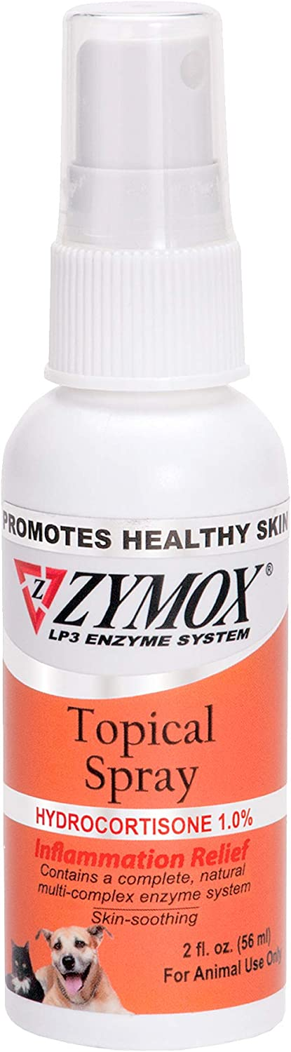 Zymox Topical Spray with Hydrocortisone 1.0% - 2 fl oz: Health & Personal Care
