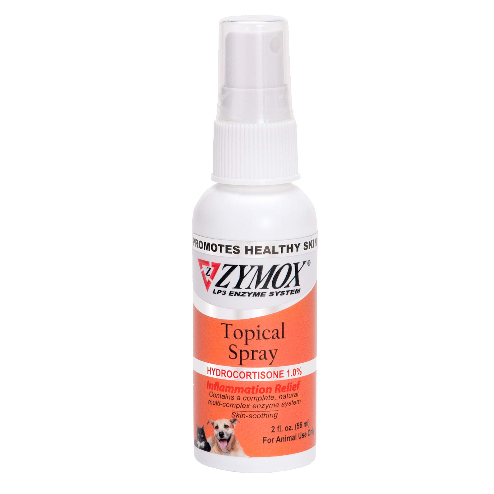 Zymox Topical Hot Spot Spray for Dogs and Cats with 1% Hydrocortisone, 2oz