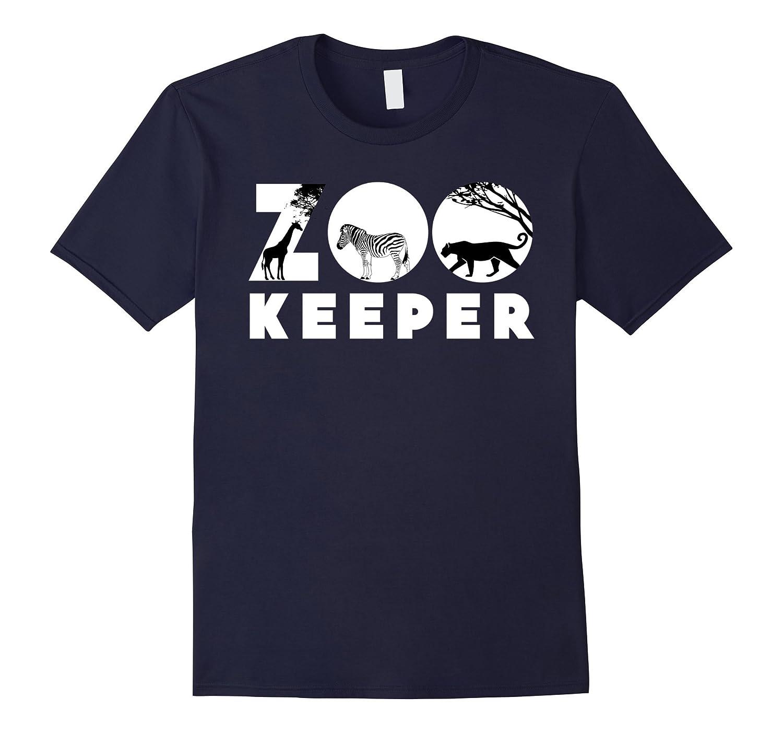 Zookeeper African Savanna Animal Print T-Shirts-FL