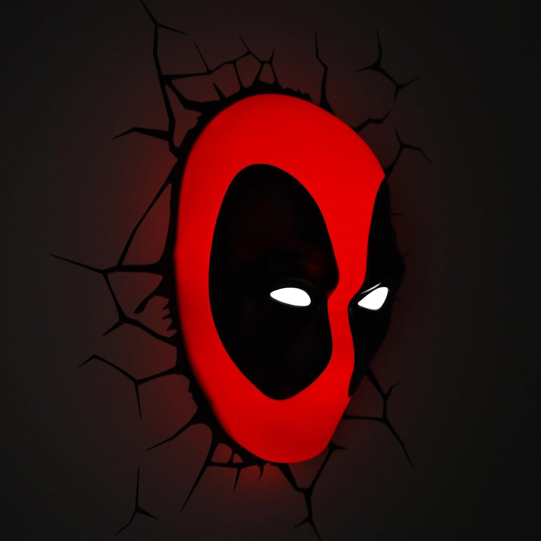 Deadpool 3D Effect Light