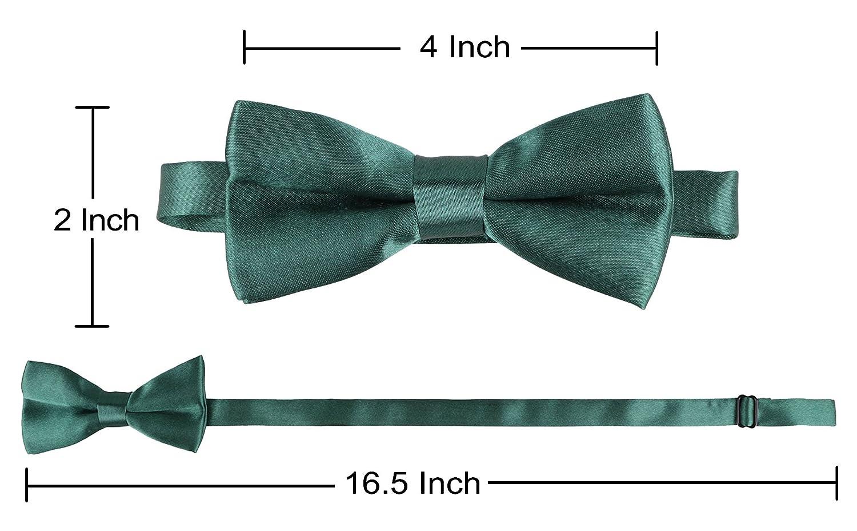 Livingston Kids Suspender Bowtie Sets Adjustable Suspender with Bow Ties