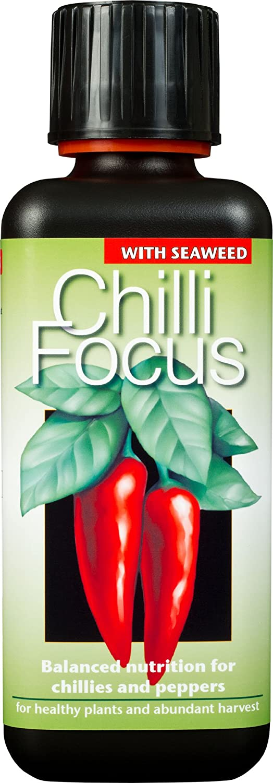 Growth Technology Ltd Chilli Focus Premium Liquid Concentrated Fertiliser 300ml 05-210-105