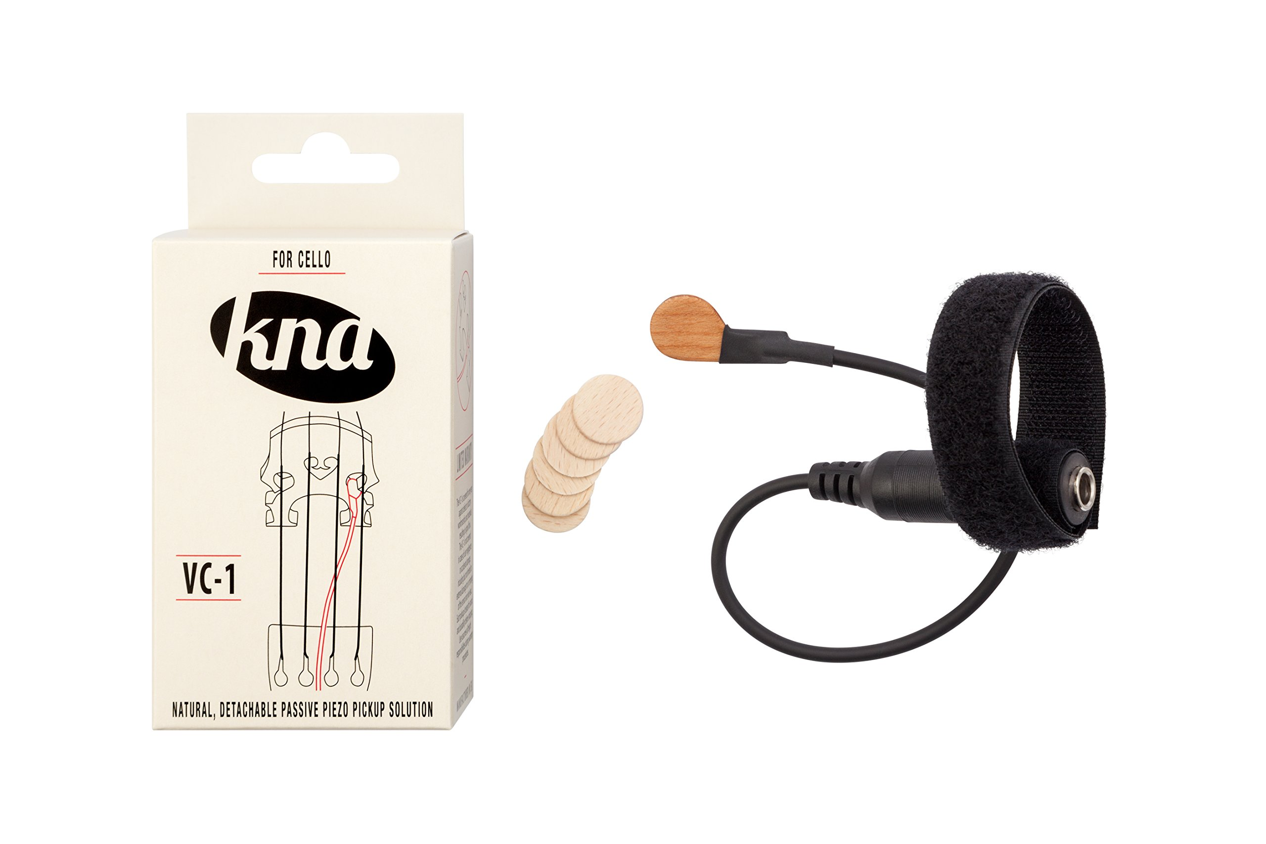 KNA VC-1 Portable Piezo Pickup for Cello