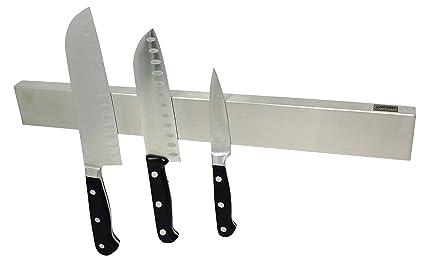 Cucinare 40 cm Premium Magnetic Knife Holder, Stainless Steel ...