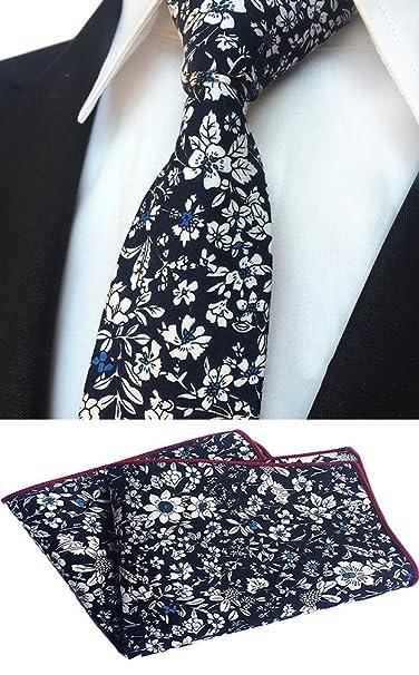 Amazon.com: MOHSLEE - Corbata de pañuelo para hombre, de ...