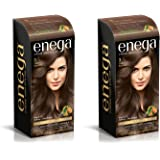 Enega Permanent Cream hair color (40 ml/each) superior quality with Argan Oil & Green Tea extract NO AMMONIA CREME FORMULA smooth care for your precious hair! DO YOUR SELF KIT