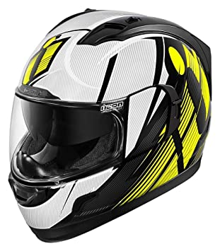Icon Alliance Gt Primary Hi Viz - Casco de moto