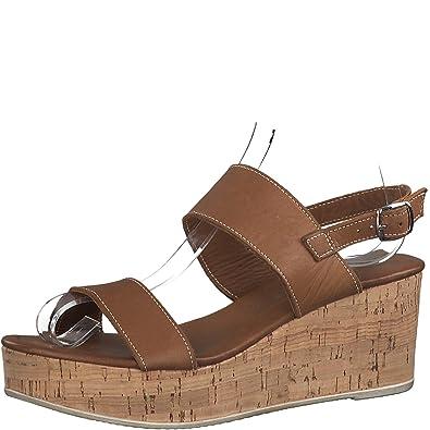 1 sandales Compensées 28363 Tamaris sandales 22 Femme Sandales IWH9D2E