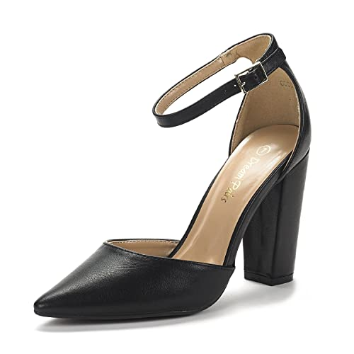 09f69c1f475 DREAM PAIRS Women's Coco Pointed Toe High Heels Pump Shoes