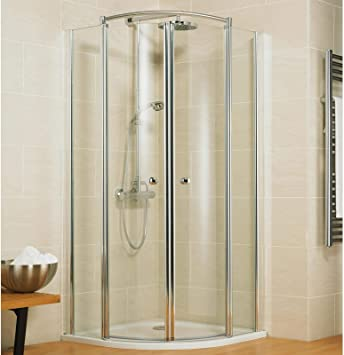 Schulte cabinas de ducha redonda ducha 90 x 90 cm Cuadrante Radius ...