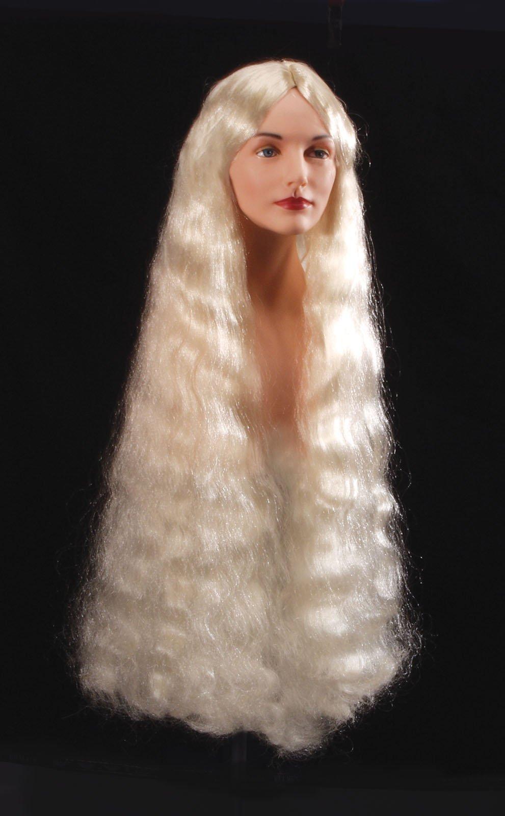Loftus International Adult Star Power Long Barbarian Dragon Queen Blonde Wig, One Size