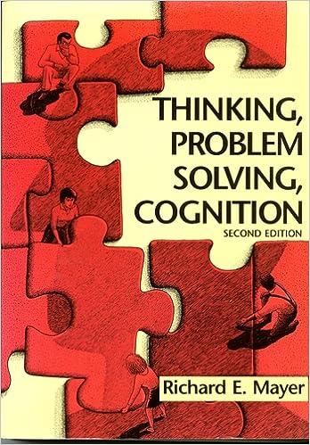 thinking problem solving cognition mayer pdf