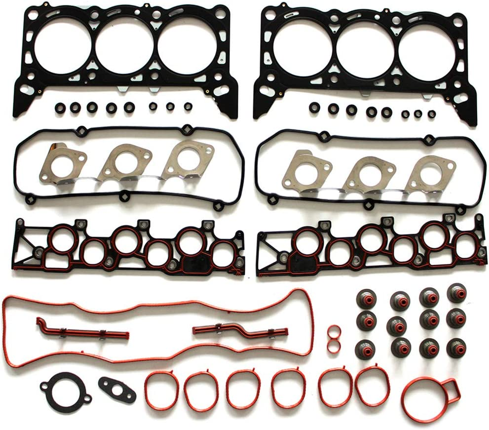 Ford Windstar 3.8L 1999-2003 ANPART Automotive Replacement Parts Engine Kits Head Gasket Set Bolts Fit