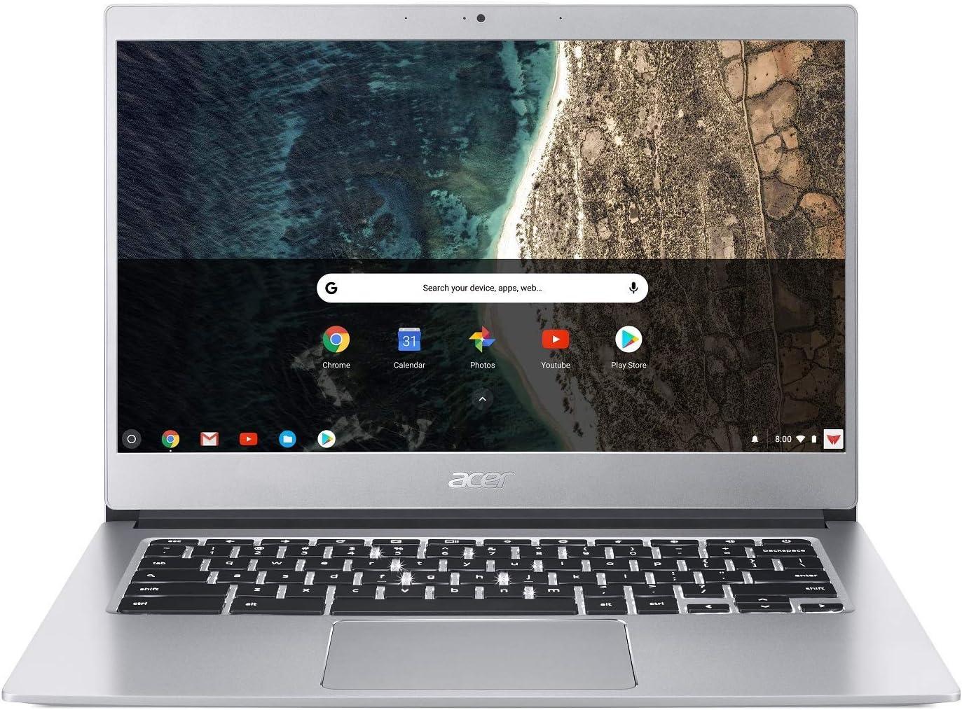 Acer Chromebook 514 Intel Celeron N3350 1.10GHz 4GB Ram 32GB Flash Chrome OS (Renewed)