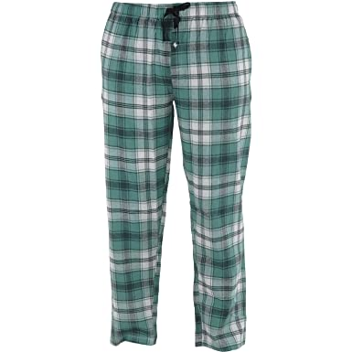 baa17dd0ac Amazon.com  Hello Mello Men s Flannel Lounge Pants with Side Pockets ...