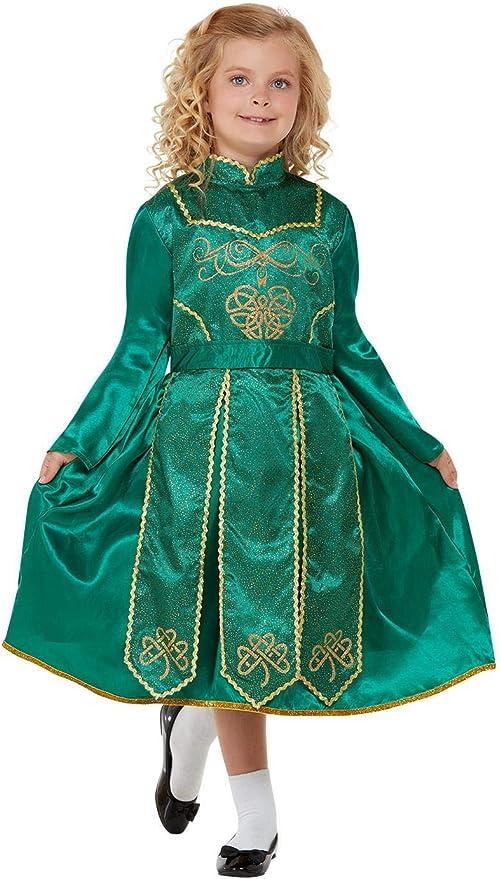 Smiffys Deluxe Irish Dancer Costume Disfraz de bailarina ...