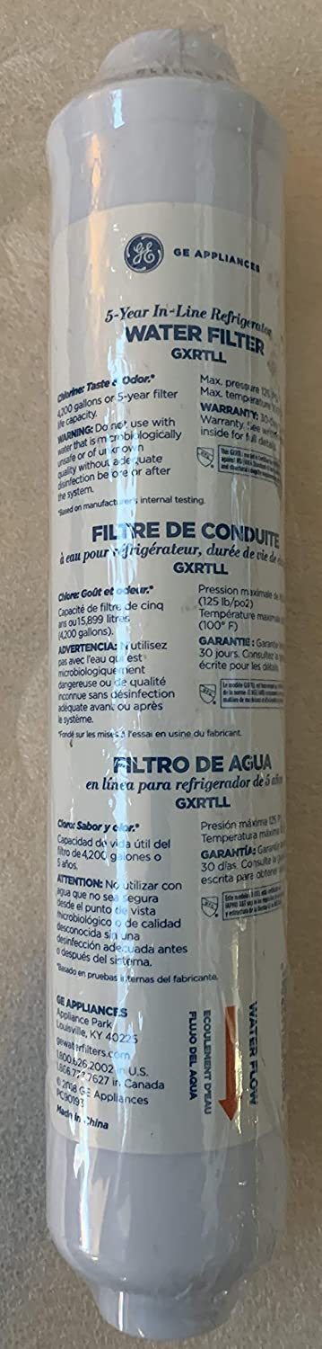 GE Appliances GXRTLL 5-Year in-LINE Filtration System Water Filter