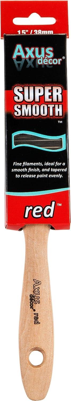 Axus Dé cor Super Smooth Brush Set - Red (4 Pieces) Axus Décor AXU/BRS4