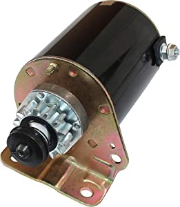 Caltric Starter compatible with 14 Tooth Briggs & Stratton 17 17.5 18 18.5