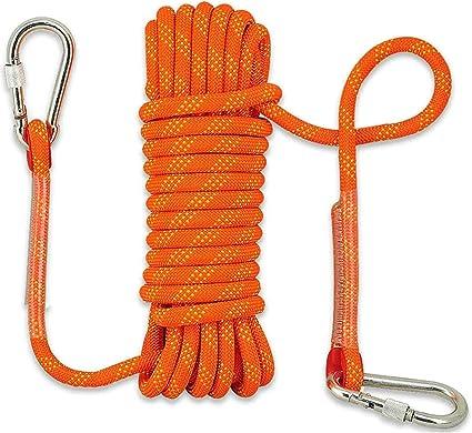 YJHH Cuerda De Seguridad 10mm 50m, Cuerda Escalada Al ...