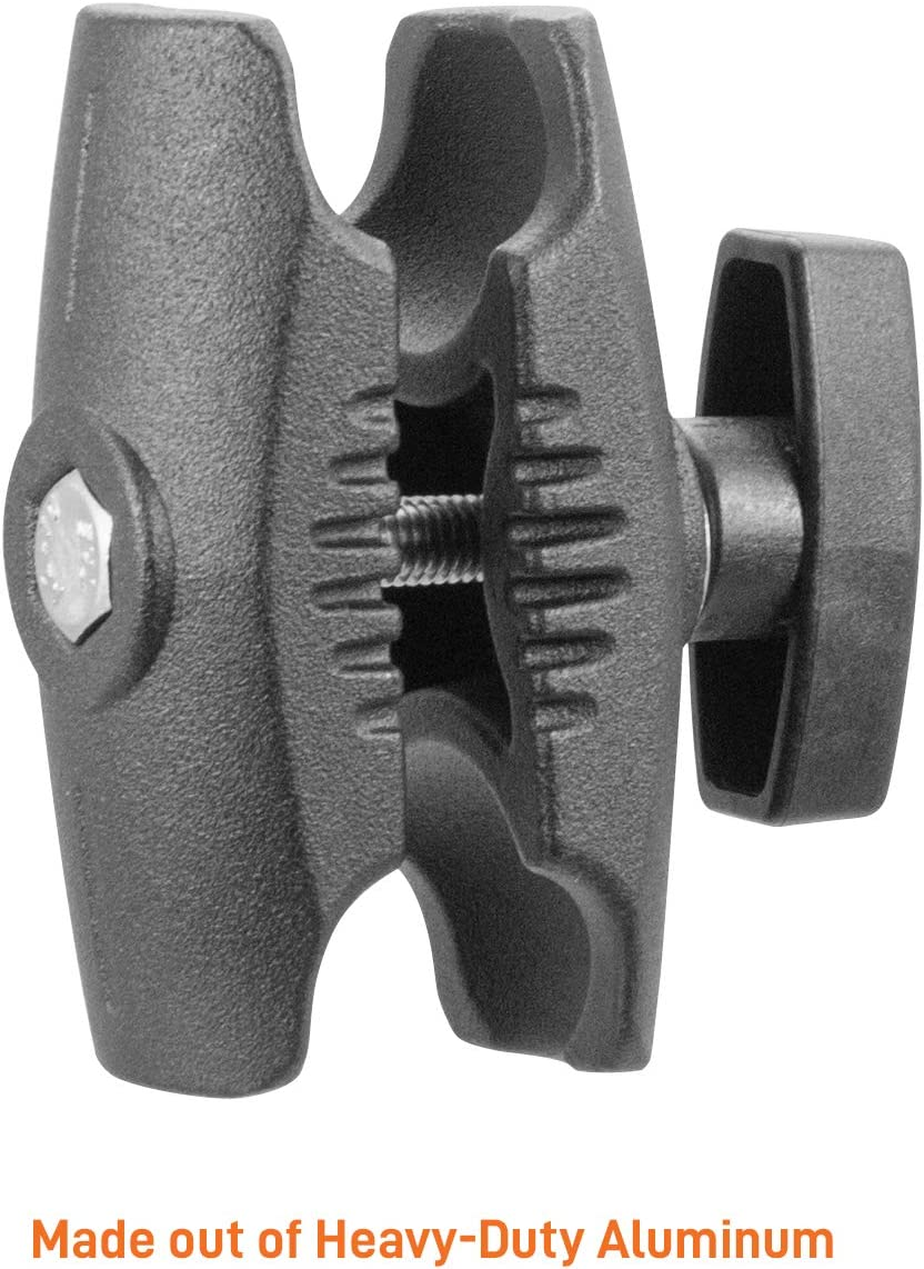 B Size Ball adapters iBOLT Composite 3.75 inch Double Socket Arm for All Industry Standard 1-inch 25mm