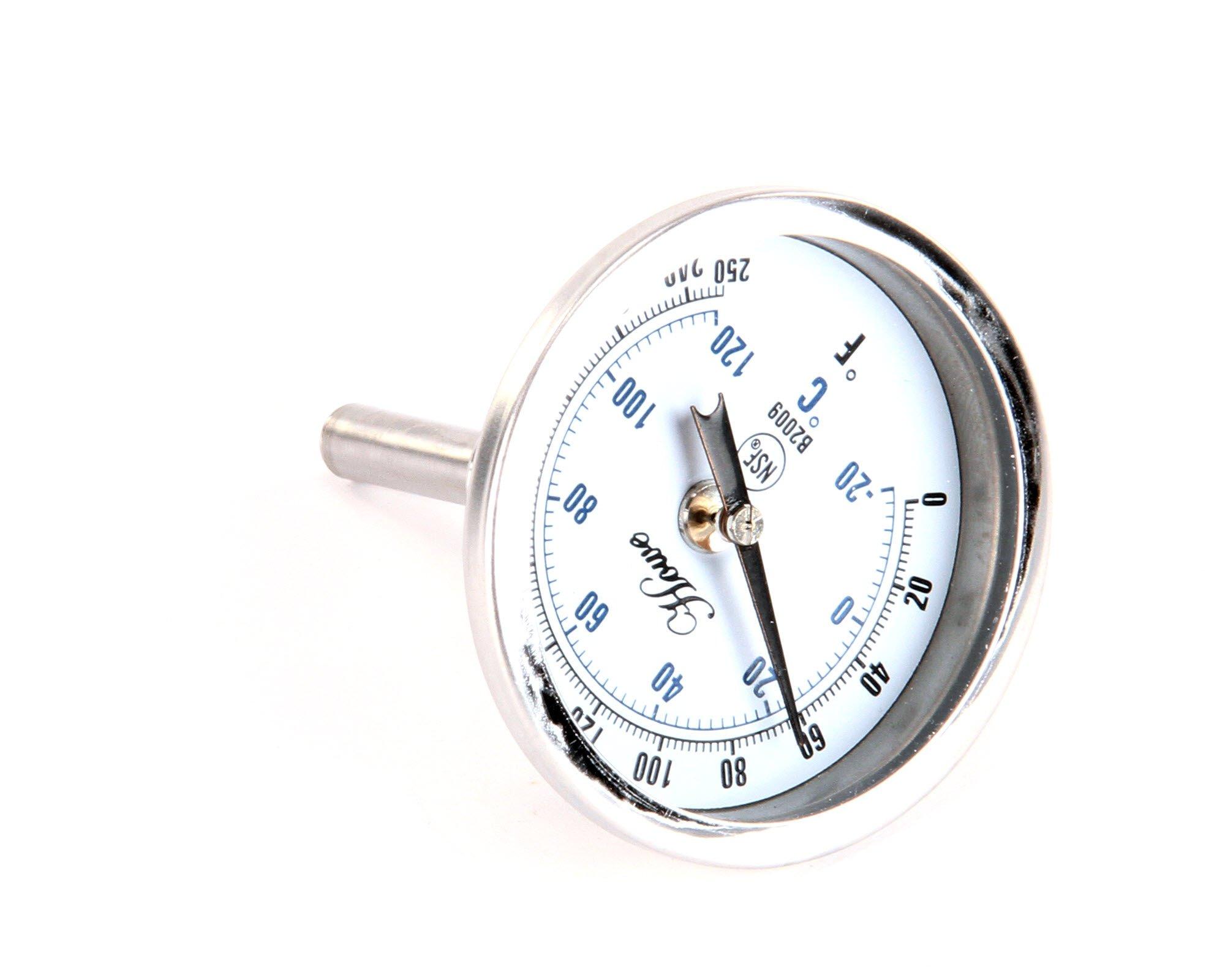 CMA Dish Machines 00120.02 Bi Metal Thermometer, 1.5''