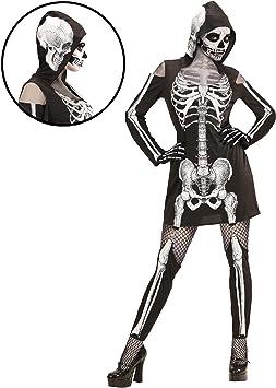 WIDMANN wdm98729 ? Disfraz esqueleto, negro, small: Amazon.es ...