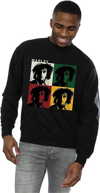 Bob Marley Hombre Colour Blocks Camisa De Entrenamiento