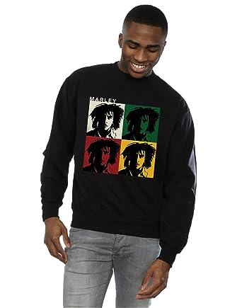 Bob Marley Hombre Colour Blocks Camisa De Entrenamiento: Amazon.es: Ropa y accesorios