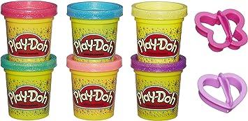 Play-Doh Pack Botes Brillantes (Hasbro A5417EU9): Amazon.es ...