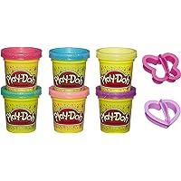 Play-Doh A5417EU8 glitterklei voor fantasierijk en creatief spelen, meerkleurig