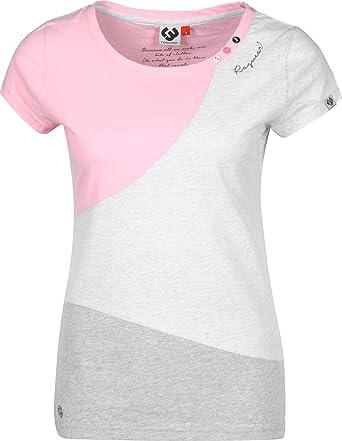 Ragwear Mint Block W T-Shirt Pink
